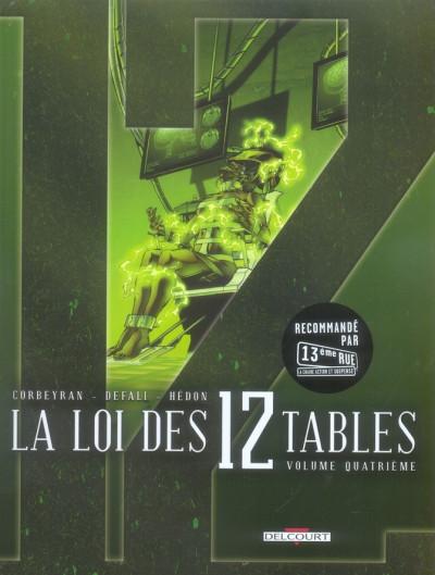 image de la loi des 12 tables tome 4 - loi des xii tables