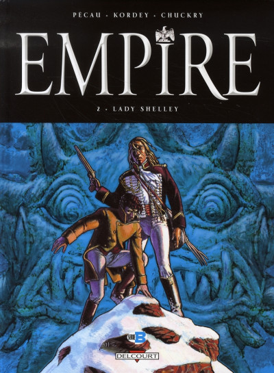 Couverture empire tome 2 - lady shelley