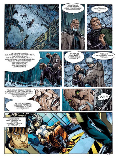 Page 2 travis tome 8 - l'or bleu