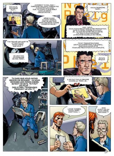Page 3 travis tome 8 - l'or bleu