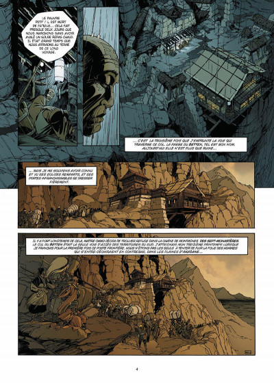 Page 5 okko tome 3 - le cycle de la terre tome 1/2