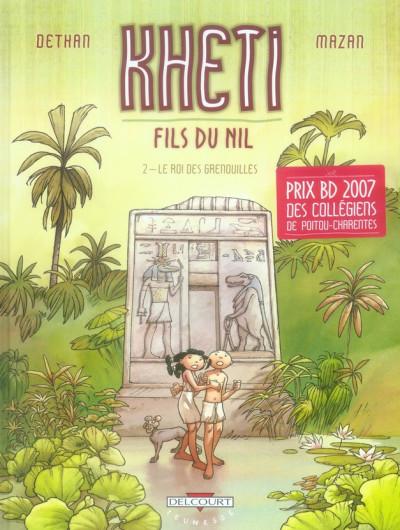 Couverture kheti, fils du nil tome 2 - le roi des grenouilles