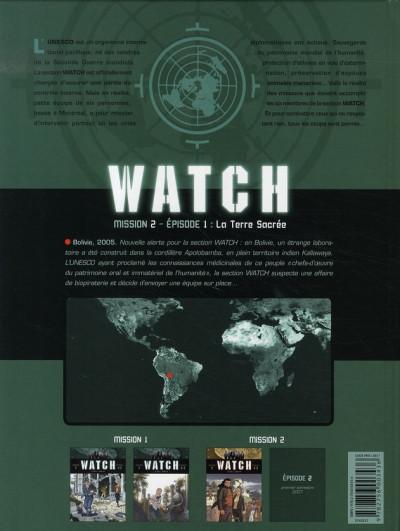 Dos watch tome 3 - mission 2, épisode 1 - la terre sacrée