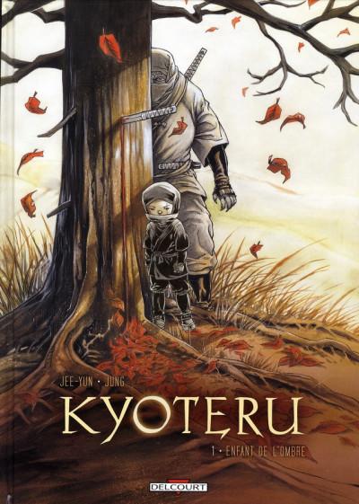 Couverture kyoteru tome 1 - l'enfant de l'ombre