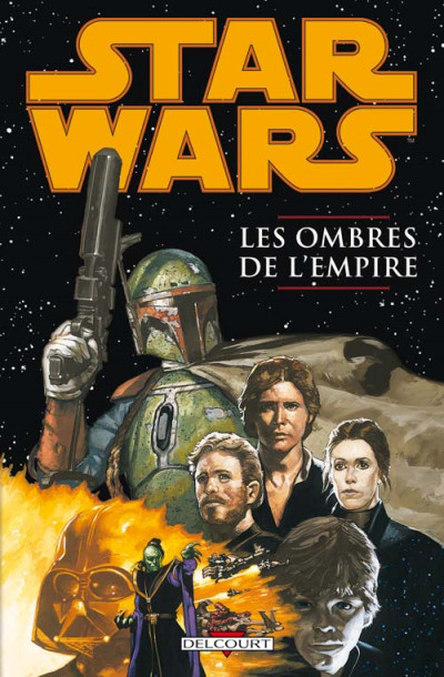 Couverture star wars - les ombres de l'empire tome 1