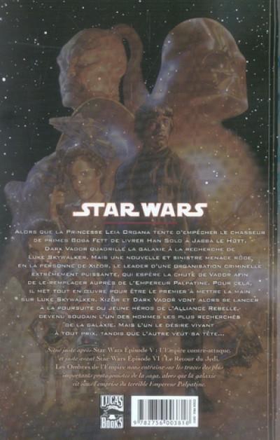 Dos star wars - les ombres de l'empire tome 1
