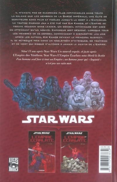 Dos star wars - l'empire écarlate tome 2 - héritage