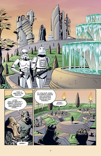 Page 0 star wars - l'empire écarlate tome 2 - héritage