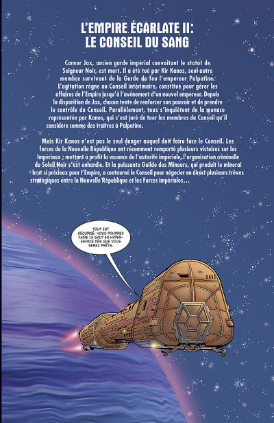Page 4 star wars - l'empire écarlate tome 2 - héritage