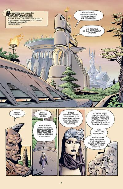 Page 9 star wars - l'empire écarlate tome 2 - héritage
