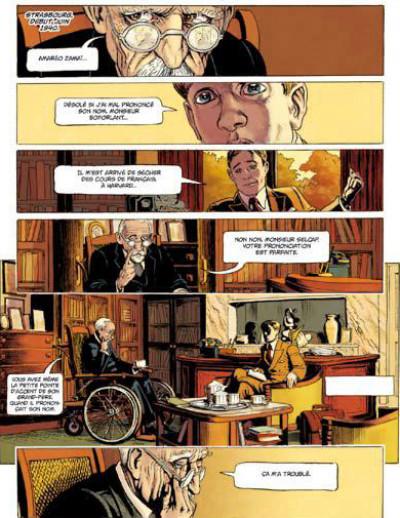Page 4 le coeur des batailles tome 1 - la marne