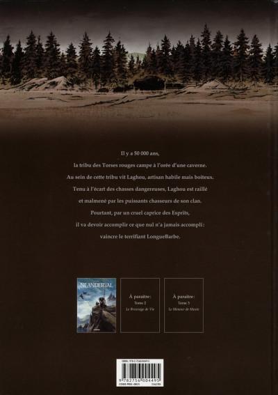 Dos néandertal tome 1 - le cristal de chasse