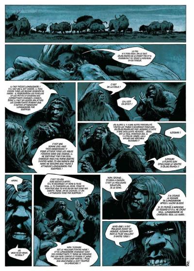 Page 2 néandertal tome 1 - le cristal de chasse
