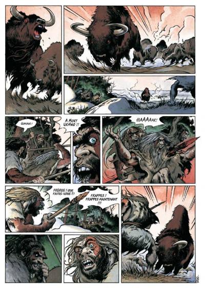 Page 3 néandertal tome 1 - le cristal de chasse