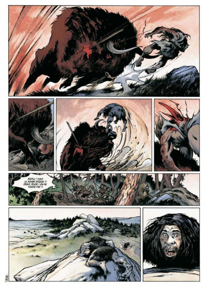 Page 4 néandertal tome 1 - le cristal de chasse