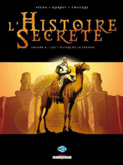 Couverture l'histoire secrète tome 8 - les 7 piliers de la sagesse