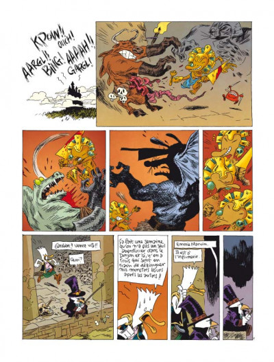 Page 1 donjon parade tome 5 - technique grogro