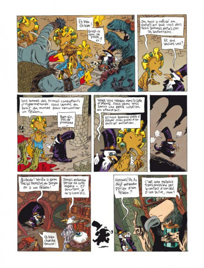 Page 2 donjon parade tome 5 - technique grogro
