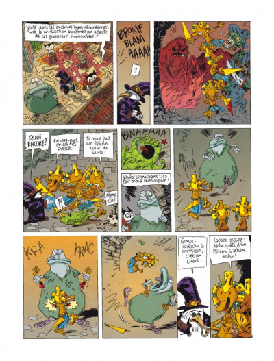 Page 3 donjon parade tome 5 - technique grogro