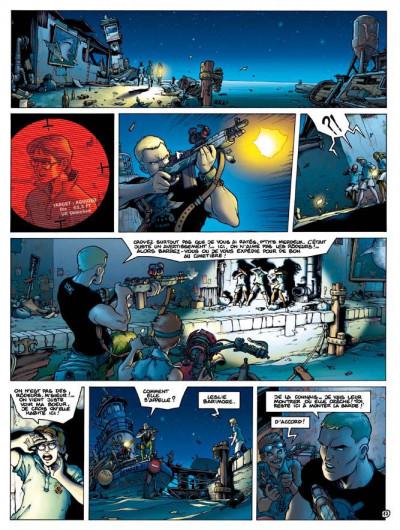 Page 2 golden city tome 7 - les enfants perdus