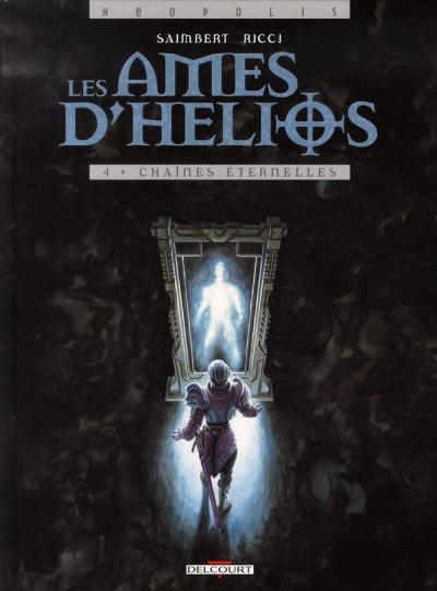 Couverture les âmes d'hélios tome 4 - chaînes éternelles