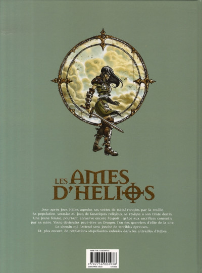 Dos les âmes d'hélios tome 4 - chaînes éternelles