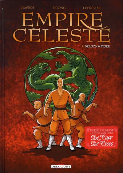 image de empire céleste tome 1 - dragon & tigre