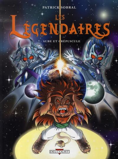 Couverture Les légendaires tome 7