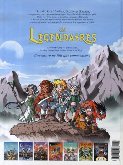 Dos Les légendaires tome 7