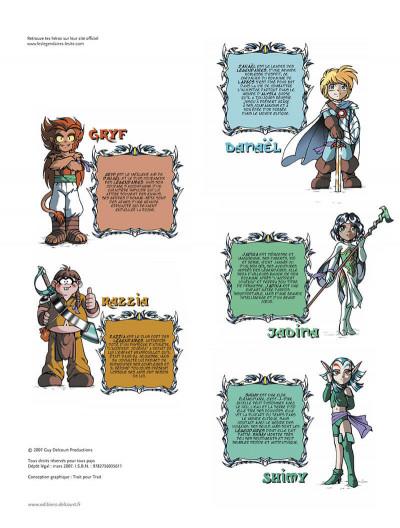 Page 3 Les légendaires tome 7