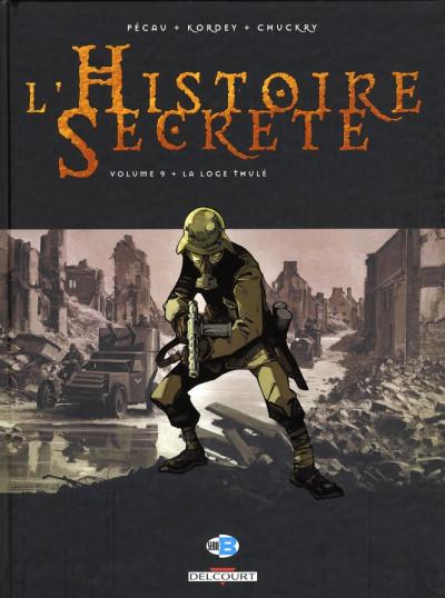 Couverture l'histoire secrète tome 9 - la loge thule