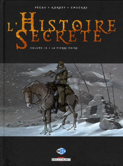 Couverture l'histoire secrète tome 10 - la pierre noire
