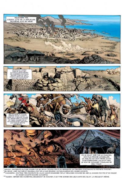 Page 1 l'histoire secrète tome 10 - la pierre noire
