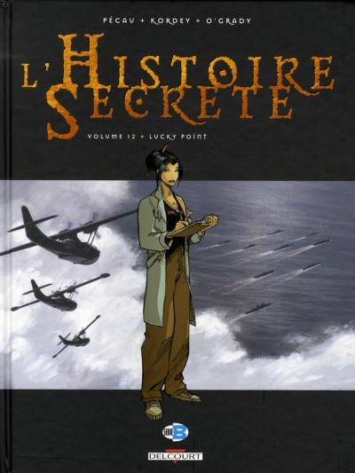 Couverture l'histoire secrète tome 12 - lucky point