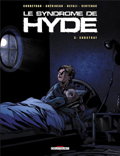 Couverture syndrôme de hyde tome 3 - substrat