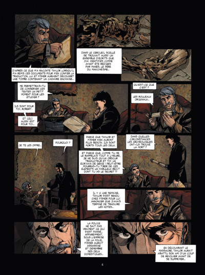 Page 4 syndrôme de hyde tome 3 - substrat