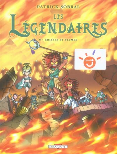 Couverture Les légendaires tome 8