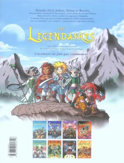 Dos Les légendaires tome 8