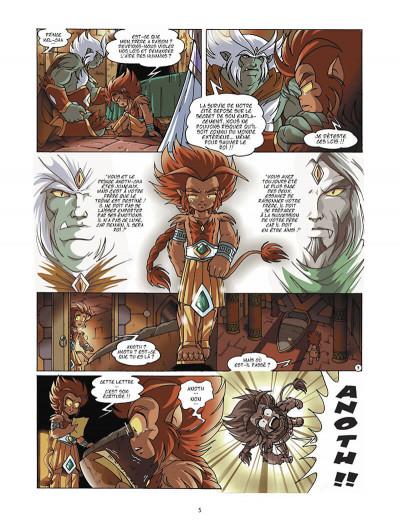 Page 6 Les légendaires tome 8