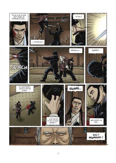Page 4 le sabre et l'épée tome 3 - les brumes du vieil immortel
