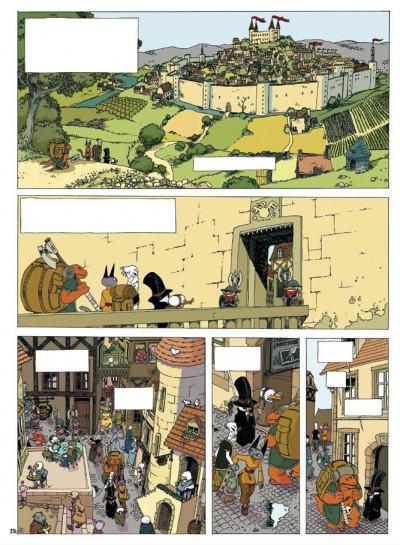 Page 1 donjon zénith tome 6 - retour en fanfare