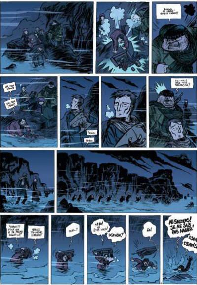 Page 2 le désespoir du singe tome 2 - le désert d'épaves