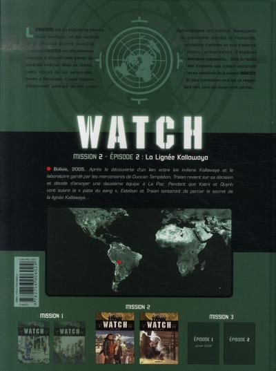 Dos watch tome 4 - mission 2, épisode 2 - la lignée