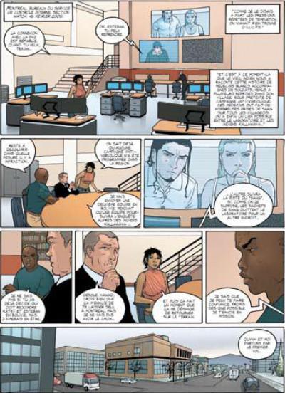 Page 1 watch tome 4 - mission 2, épisode 2 - la lignée