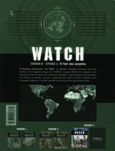 Dos watch tome 5 - mission 3, épisode 1 - à l'est des carpates