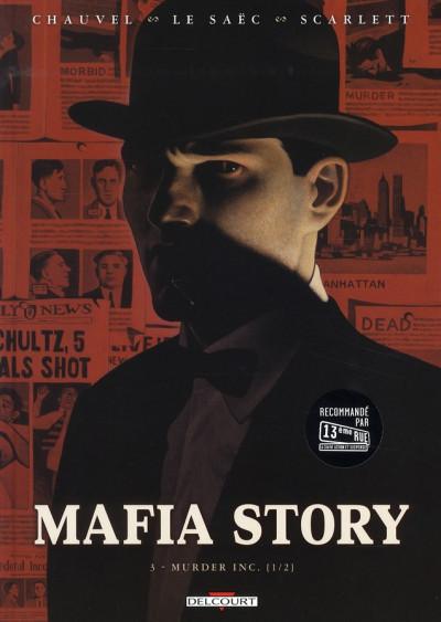 image de mafia story tome 3 - murder inc. tome 1