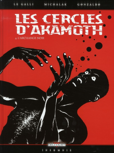 Couverture les cercles d'akamoth tome 4 - l'archange noir