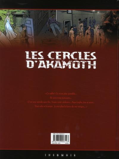 Dos les cercles d'akamoth tome 4 - l'archange noir
