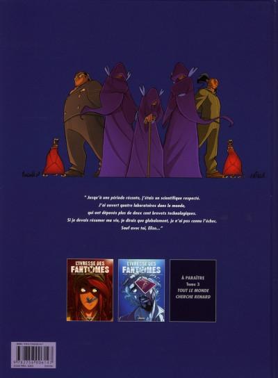 Dos l'ivresse des fantômes tome 2 - l'éminent professeur pélias