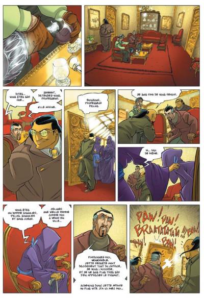 Page 2 l'ivresse des fantômes tome 2 - l'éminent professeur pélias